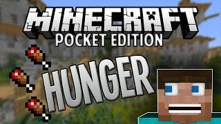 【Review】Hunger Mod for Minecraft Pocket Edition 0.11.1