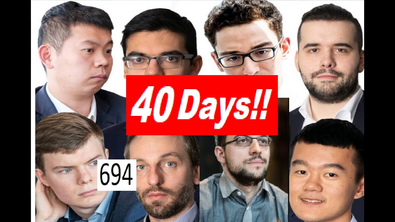 40 Days till the 2020 Candidates Tournament!