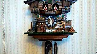 Wood Chopper Cuckoo Clock Find It On Ebay!