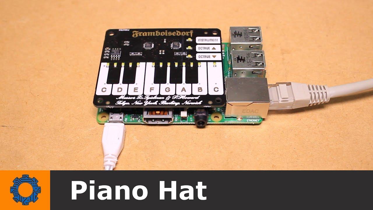 Raspberry Pi - Piano Hat