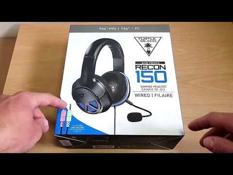 Turtle Beach Recon 150 Unboxing