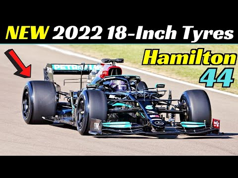 Lewis Hamilton Tests the NEW 2022 18-Inch Tyres, Mercedes-AMG F1 W10, Imola Circuit, April 20, 2021