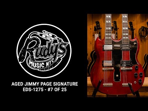 Aged Jimmy Page Signature EDS-1275 Demo - Rudy's Music Shop