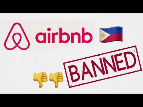 Airbnb BANNED in the Philippines