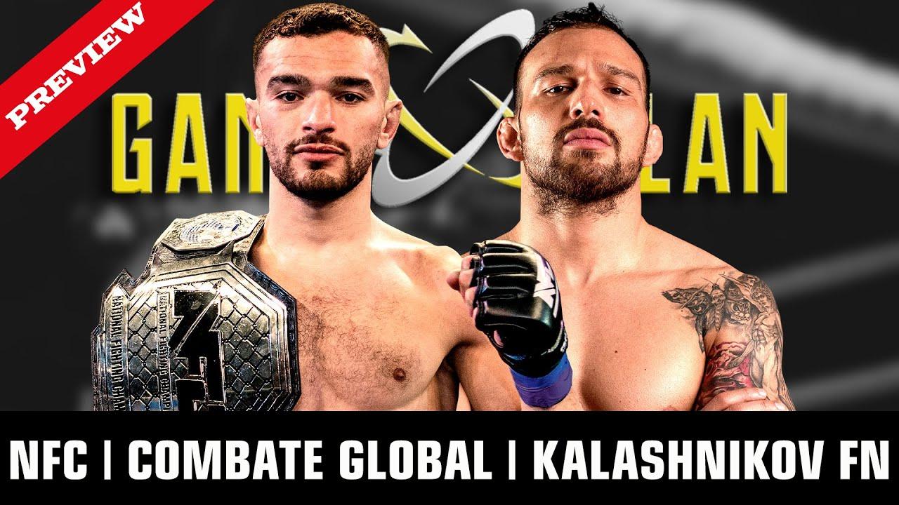 Download NFC 5 - TRABELSI VS COGA | COMBATE GLOBAL | KALSHNIKOV FN | GAME PLAN | #62
