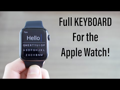 This Is A Full Keyboard For The Apple Watch!! (FREE!)