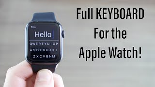 How to use instagram and facebook on the apple watch!! https://youtu.be/u2jhw0hltkc download flicktype (free): https://apps.apple.com/br/app/flicktype-keyboa...