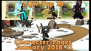 AQW Top 10 Char Page January 2018 #1