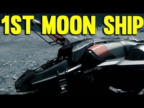 FIRST MOON SHIP | Star Citizen 3.0 Gameplay PTU Alpha #3