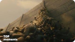 Атака зомби на город (часть 1). Война миров Z (2013)