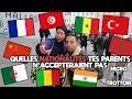 Quelles nationalités tes parents n'accepteraient pas - Micro Trottoir - La MeuteTV