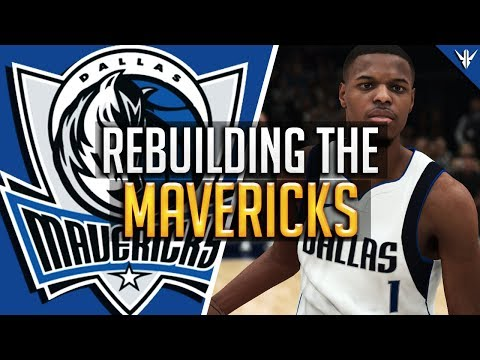 NBA 2K18 MyLEAGUE: REBUILDING the Dallas Mavericks