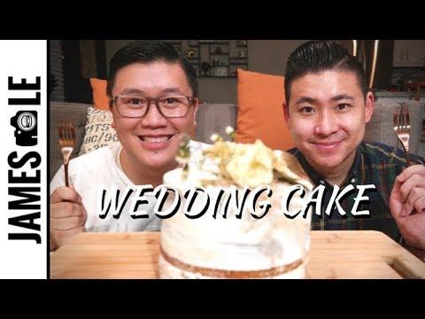 newlyweds-eating-wedding-cake-mukbang---was-it-good?