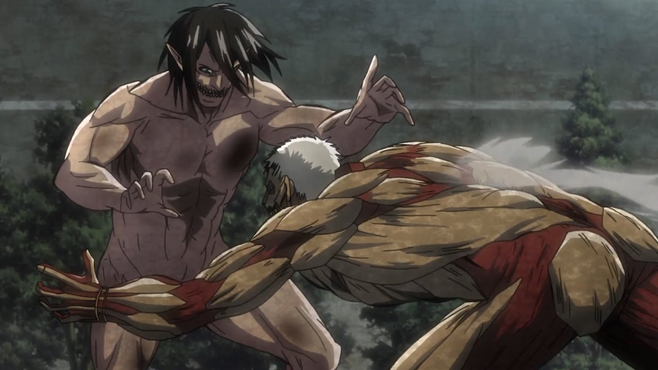 Eren Titan & Mikasa vs Armored Titan - Attack on Titan ... Spectators with incredible success according to viewers, the most charming character is not the main characters, but their crony friend.