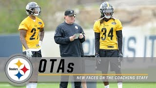 A Closer Look at the New Faces on the Steelers Coaching Staff   OTAs