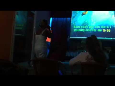 Karaoke night at Avra Beach Resort...