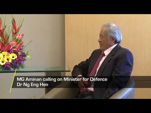Commander of the Royal Brunei Armed Forces Makes Introductory Visit to Singapore
