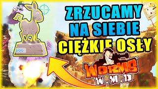 Worms W.M.D [#16] - ZRZUCAMY NA SIEBIE CIĘŻKIE OSŁY | BLADII