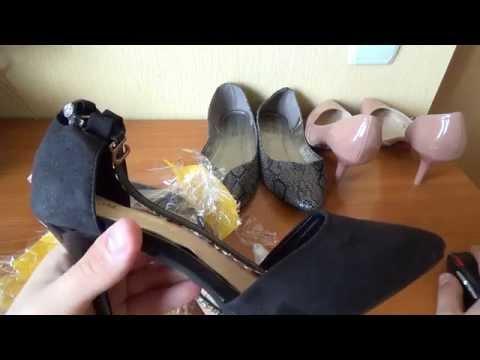 Много женской обуви с Aliexpress!