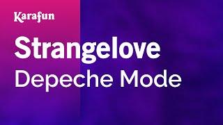 Karaoke Strangelove - Depeche Mode *