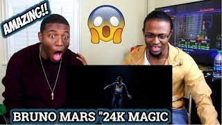 Bruno Mars - 24K Magic [American Music Awards Performance] (REACTION)