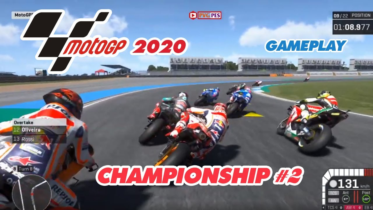 [MotoGP 19 – 2020] Thailand Grand Prix | Marc Marquez | Gameplay (PC)