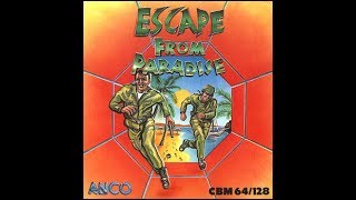 C64 Game: Escape from Paradise