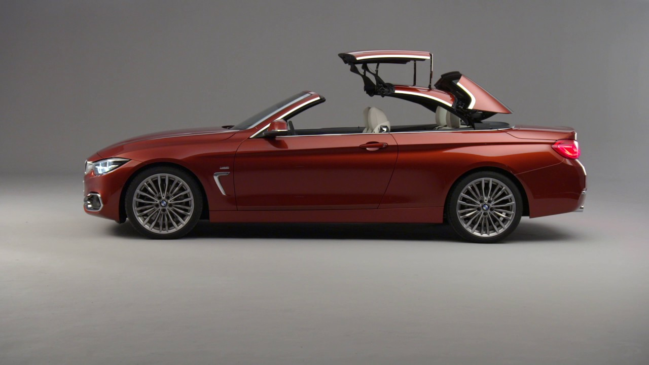 2017 bmw 4 series convertible facelift exterior design youtube. Black Bedroom Furniture Sets. Home Design Ideas
