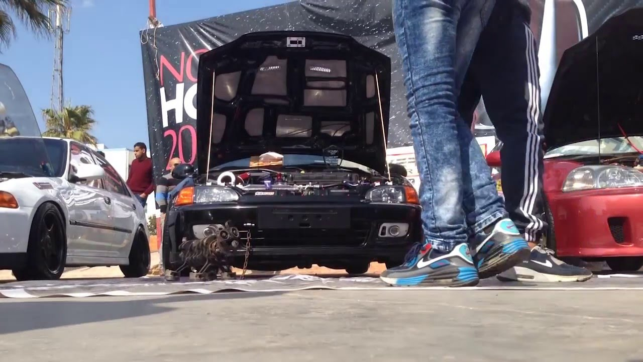 Amazing HONDA EGYPT GARAGE   HONDA DAY IN EGYPT SEASON 2 2016   YouTube