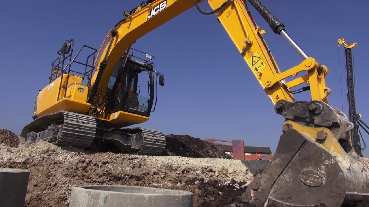 JCB JS130 and JS145 Tier 4 Final Excavators