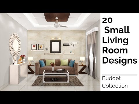 20 Small Living Room Designs | Budget Collection Pt 1 (2019)