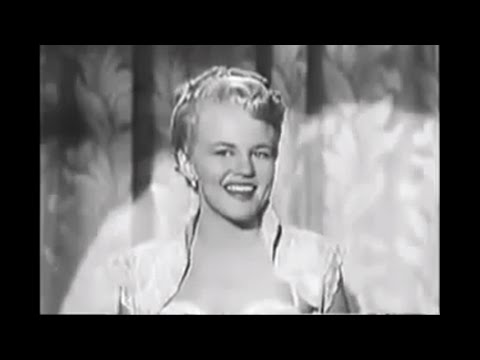 "Peggy Lee ""Why Don't You Do Right"""