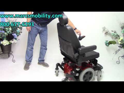 Sunrise Medical - Quickie Pulse 6 - #2358 - Fast Power Chair - Marc's Mobility