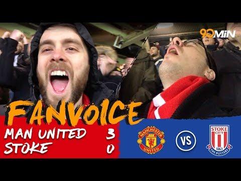 Man United 3-0 Stoke | Valencia, Martial & Lukaku goals destroy Stoke 3-0! | FanVoice