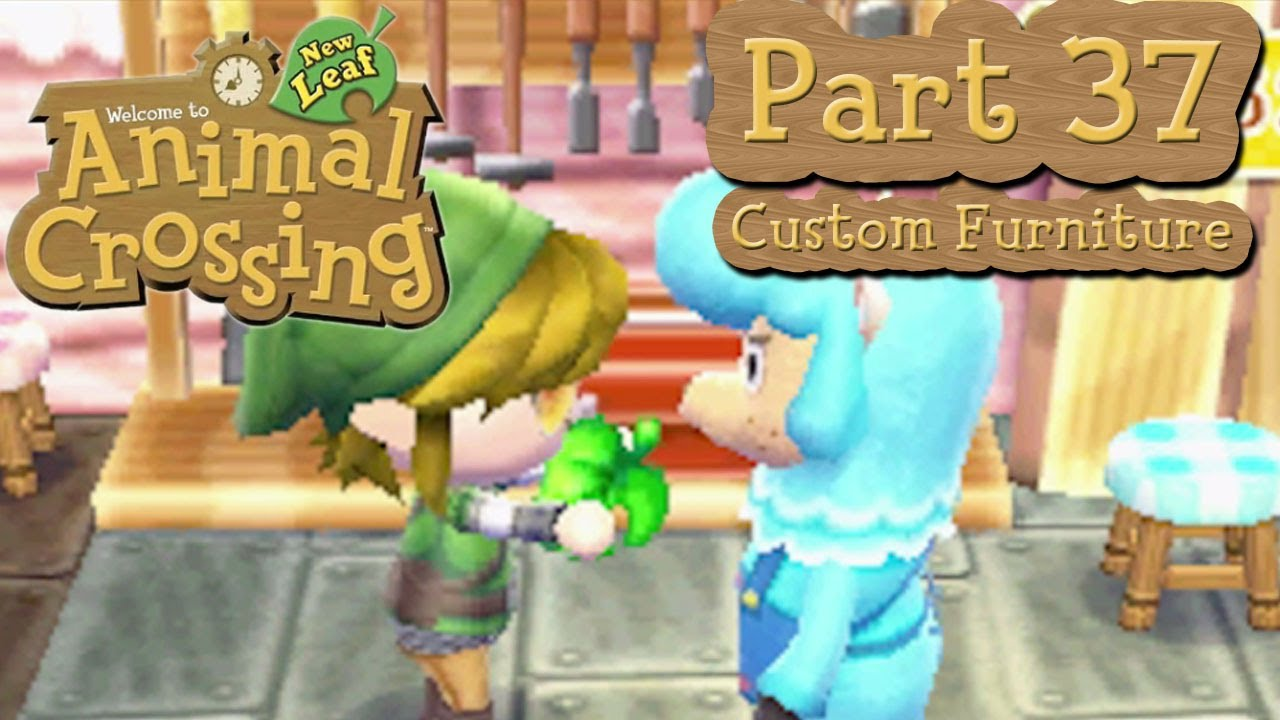 Animal Crossing  New Leaf   Part 37  Customizing Furniture With Cyrus at  Re Tail    YouTubeAnimal Crossing  New Leaf   Part 37  Customizing Furniture With  . Minimalist Chair Acnl. Home Design Ideas