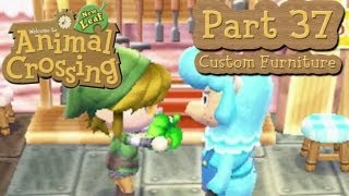 Animal Crossing: New Leaf - Part 37: Customizing Furniture With Cyrus At Re-tail!