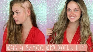 Was a $2500 wig worth it!? || New Wig Unboxing!