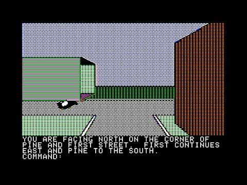 Pillage Village walkthrough (Apple II - Software Marketing Services)