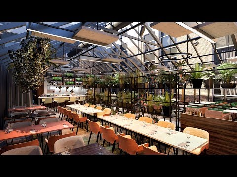 The Greenhouse – Unique Restaurant And Event Venue At NH Amsterdam Schiphol Airport