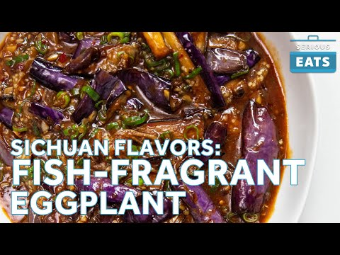 Fuchsia Dunlop & Sichuan Flavors: Fish Fragrant   Braised Eggplant   Serious Eats
