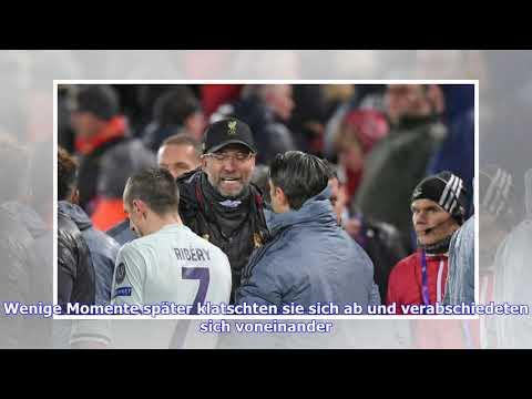 Champions League: Jürgen Klopp und Niko Kovac mit Wortgefecht nach Abpfiff