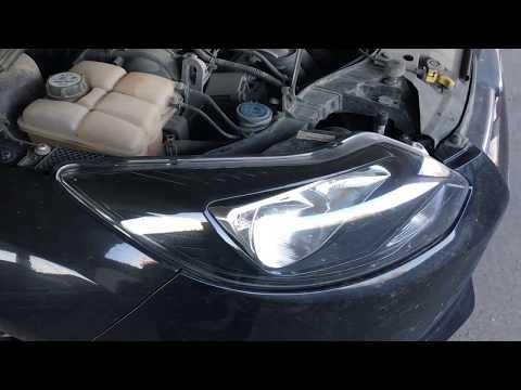 Форд Фокус 3   Нюанс снятия фары   Замена лампы