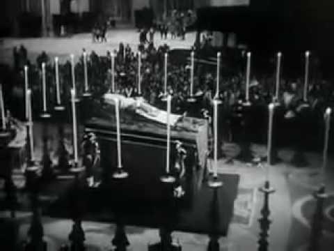 Papst Pius XII  sein Tod und Testament