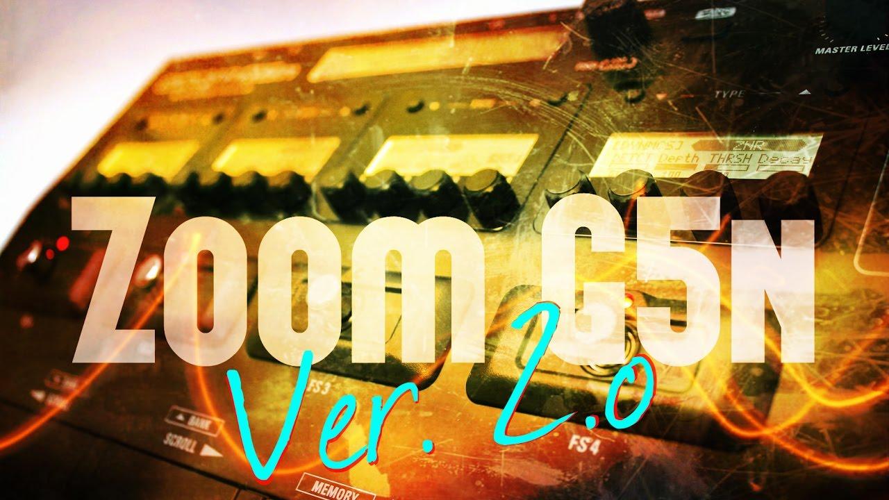 Download Zoom G5n ver. 2.0 | Alex Machado