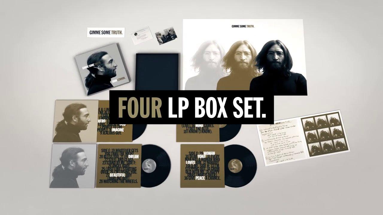 John Lennon Gimme Some Truth Four Lp Box Set Youtube