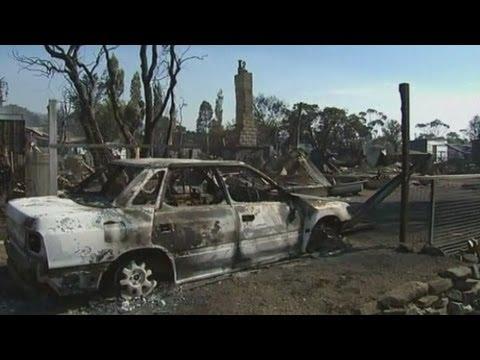 Bushfires Destroy Homes And Businesses In Tasmania