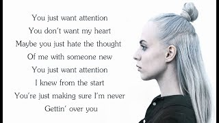 ATTENTION - Charlie Puth - Madilyn Bailey, Mario Jose, KHS COVER (Lyrics) Video