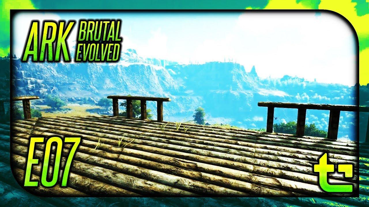 Ark: Brutal Evolved || E07 - Moving Inland: Starting Base || TimmyCarbine