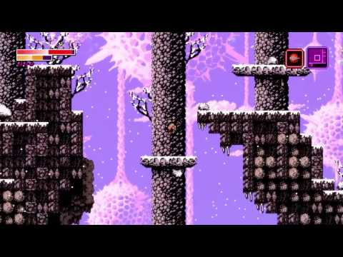 Axiom Verge   Spinning charged particle blades release discrete pulses of energy