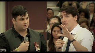 Excellent Response To Trudeau's Disgusting Veteran Comment